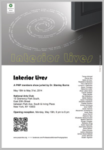 Flyer - Interior Lives - NAC 2014
